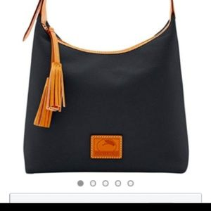 Dooney & Bourke Patterson pebble leather hobo